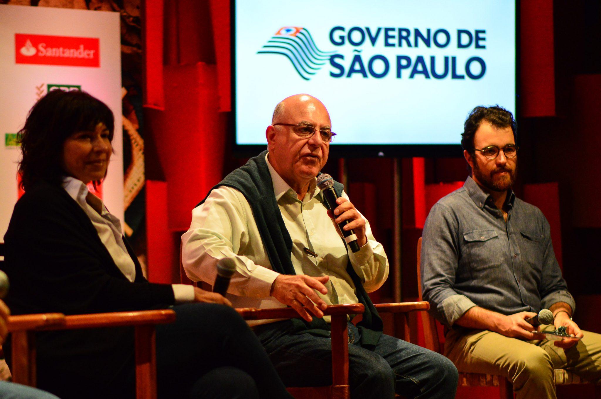 Arnaldo Jardim – Secretário de Agricultura e Abastecimento do Estado de São Paulo na abertura da Feira Viva