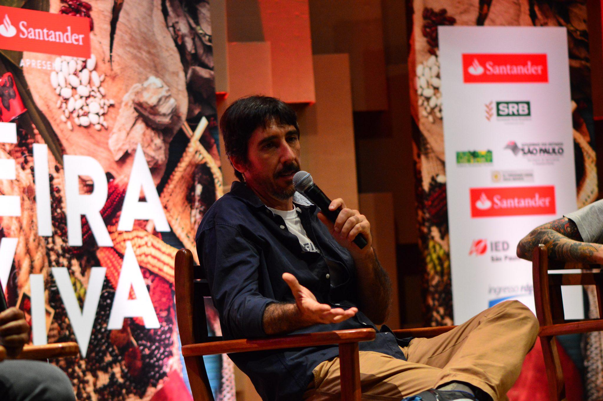 Patrick Assumpção, idealizador da Feira Viva, participa do painel O Peixe e o Palmito na Ed. de Inverno