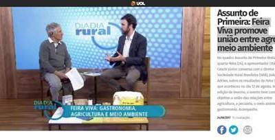 Diretor da SRB fala sobre a Feira Viva no Dia a Dia Rural