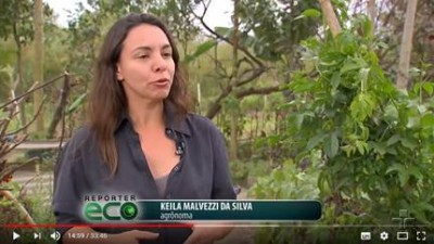 Keila Malvezzi da Silva é a entrevistada do Eco Repórter, da TV Cultura