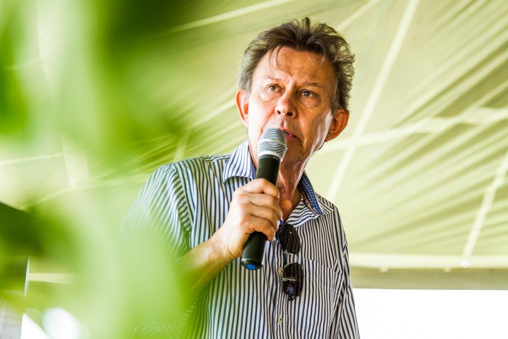 Harri Lorenzi participa da feitura Panc na Ed. de Verão da Feira Viva