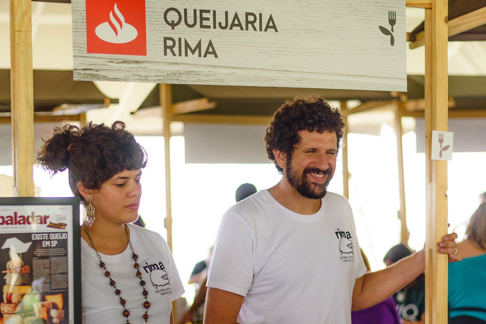 Produtor de queijo de ovelha, participa da Feira Viva de Verão.